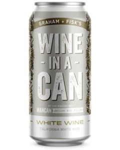 Firehouse Wine-In A-Can California White Wine