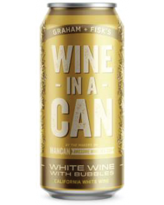 Firehouse Wine-In A-Can California White Wine With Bubbles